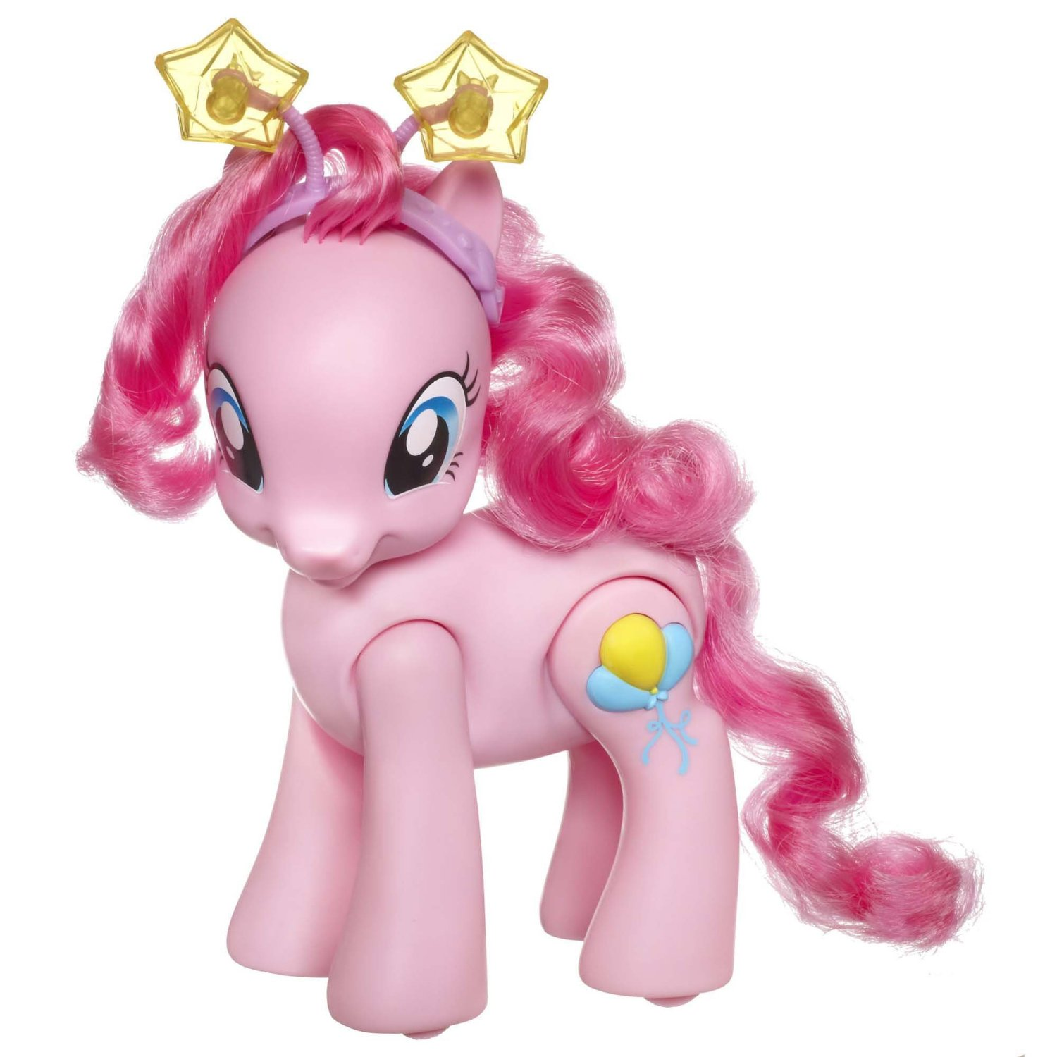 My Little Pony Toys : My little pony toys walking talking pinkie pie figure at