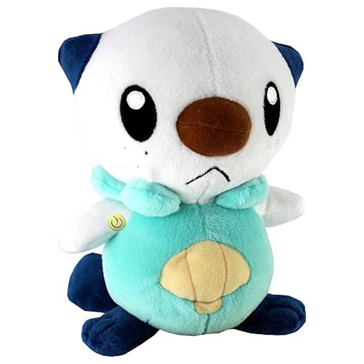 Keep oshawott in your arms while you dream this cuddly plush pokemon