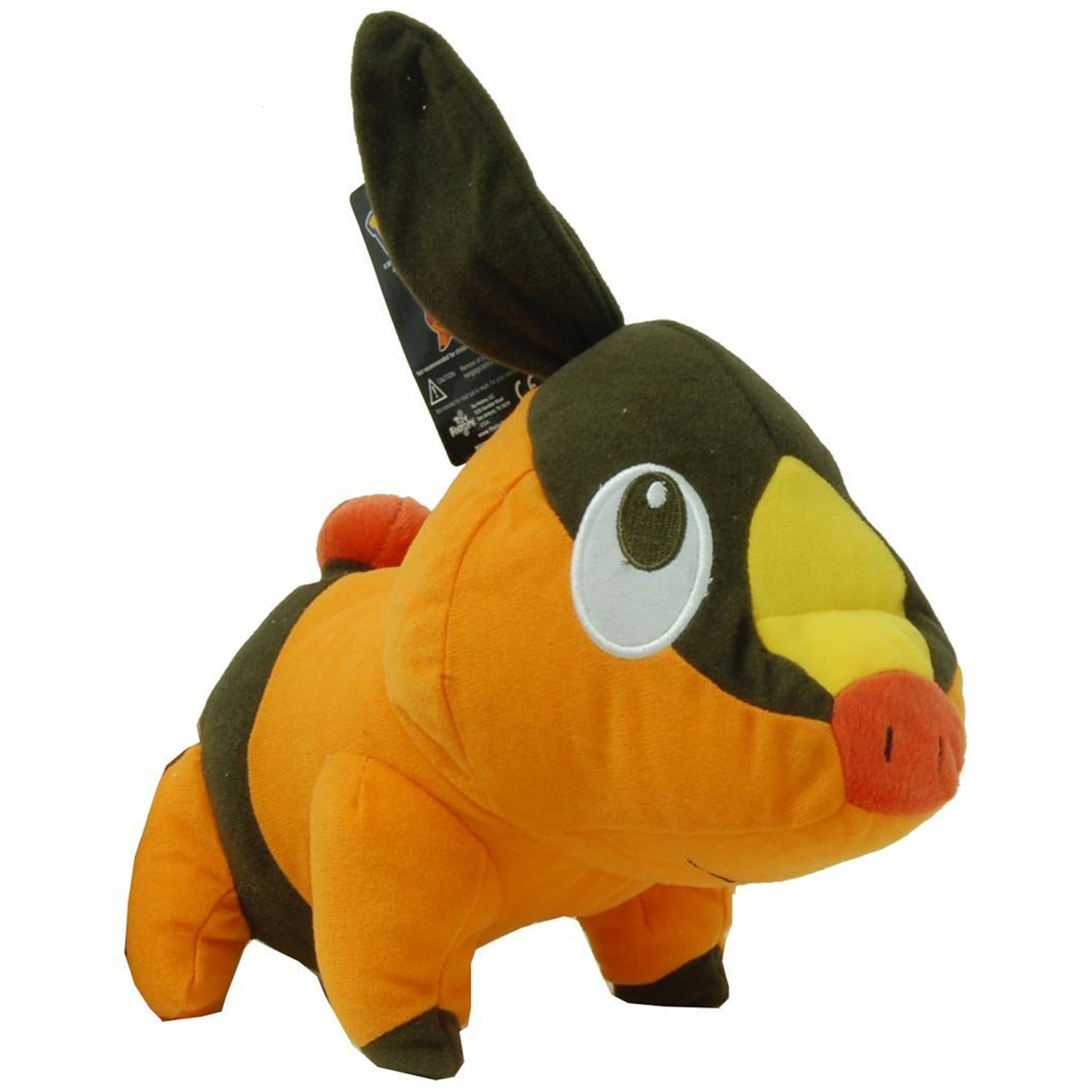 Keep tepig in your arms while you dream this cuddly plush pokemon