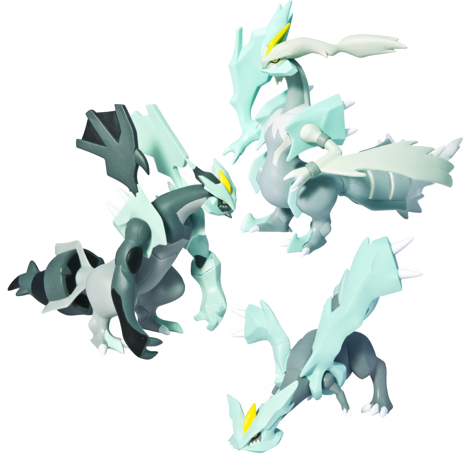 Pokemon Toys - 7 Inch Articulated Kyurem at ToyStop | 1500 x 1500 jpeg 599kB