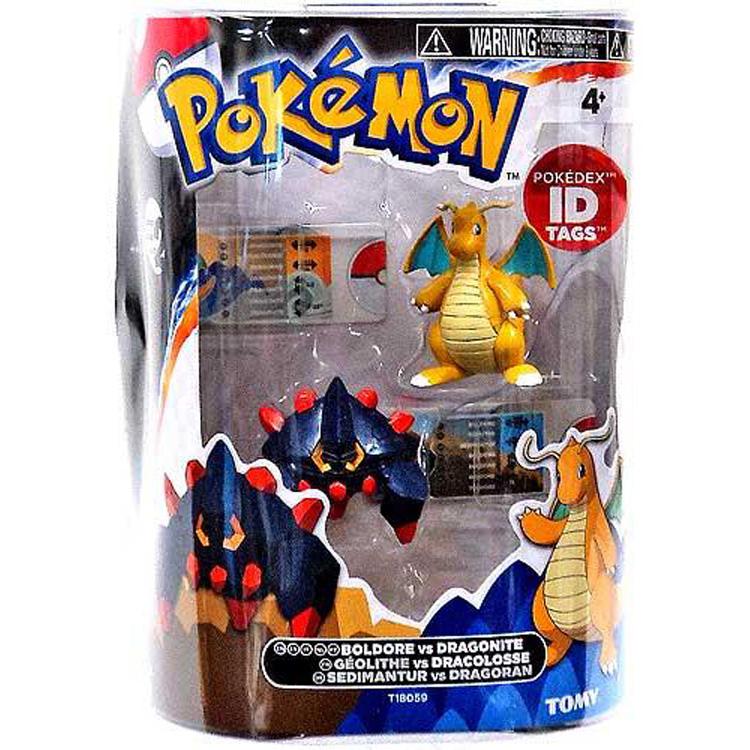 Pokemon Toys Boldore Vs Dragonite Pack