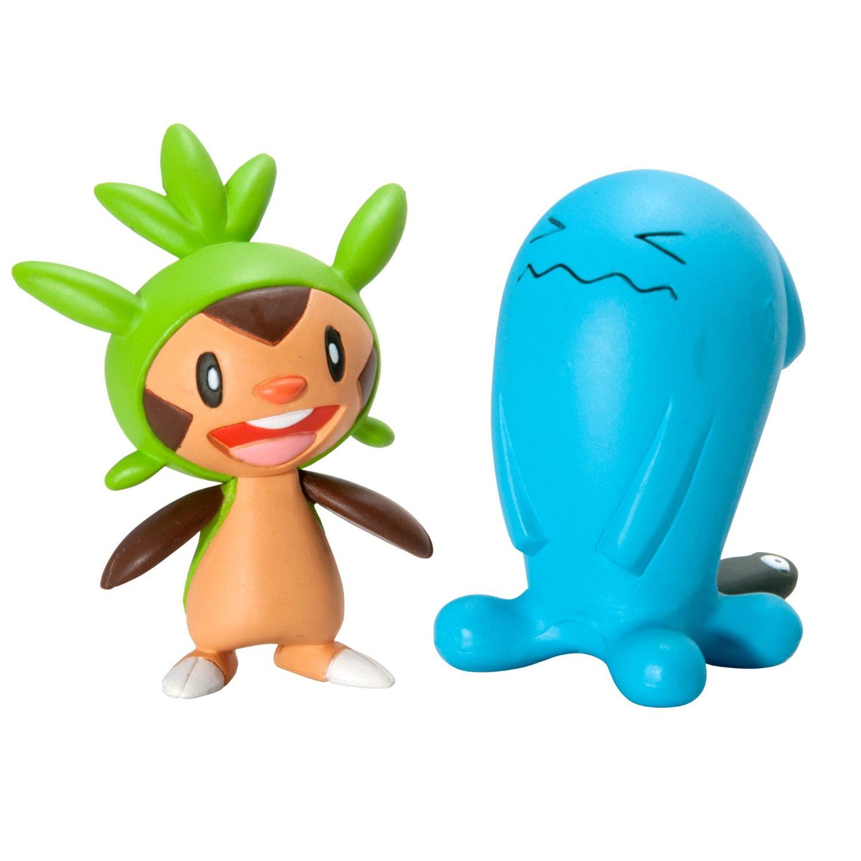 Pokemon Toys Chespin Vs Wobbuffet Pack