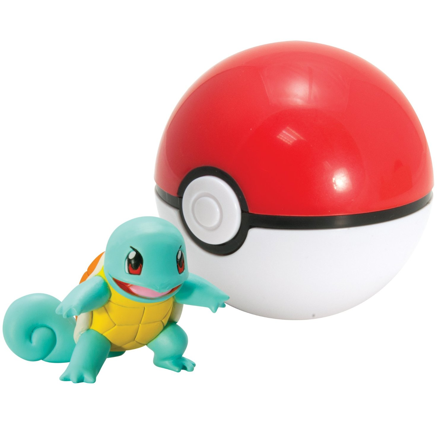 Pokemon Toys Clip Carry Squirtle Poke Ball