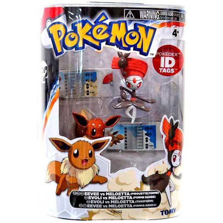 Pokemon Toys Eevee Vs Meloetta Pack