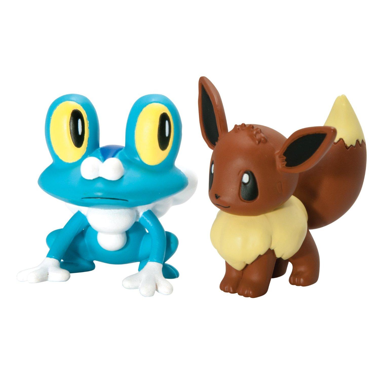 Pokemon Toys Froakie Vs Eevee Pack