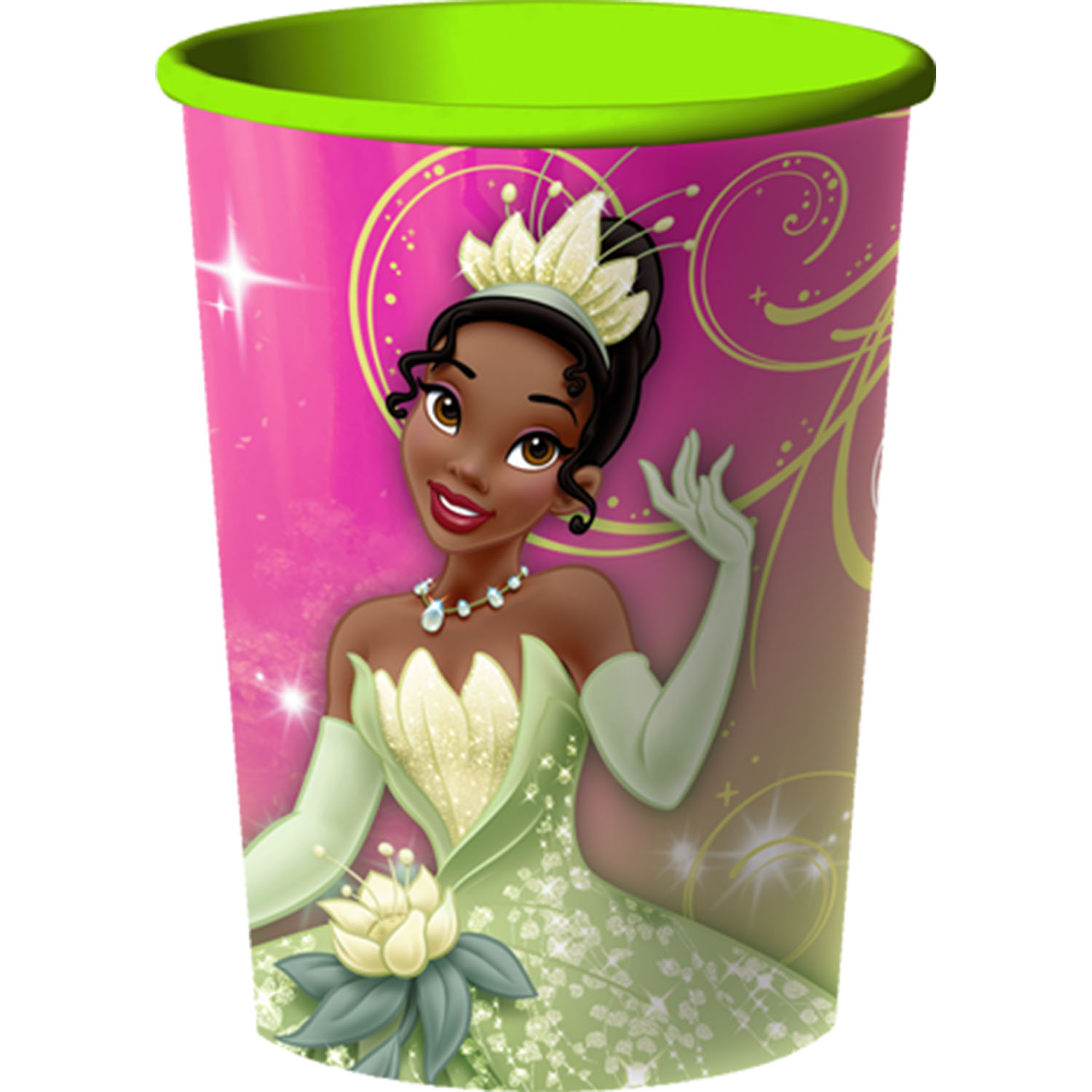 Princess And The Frog Sparkle Party Supplies 16 Oz Cups