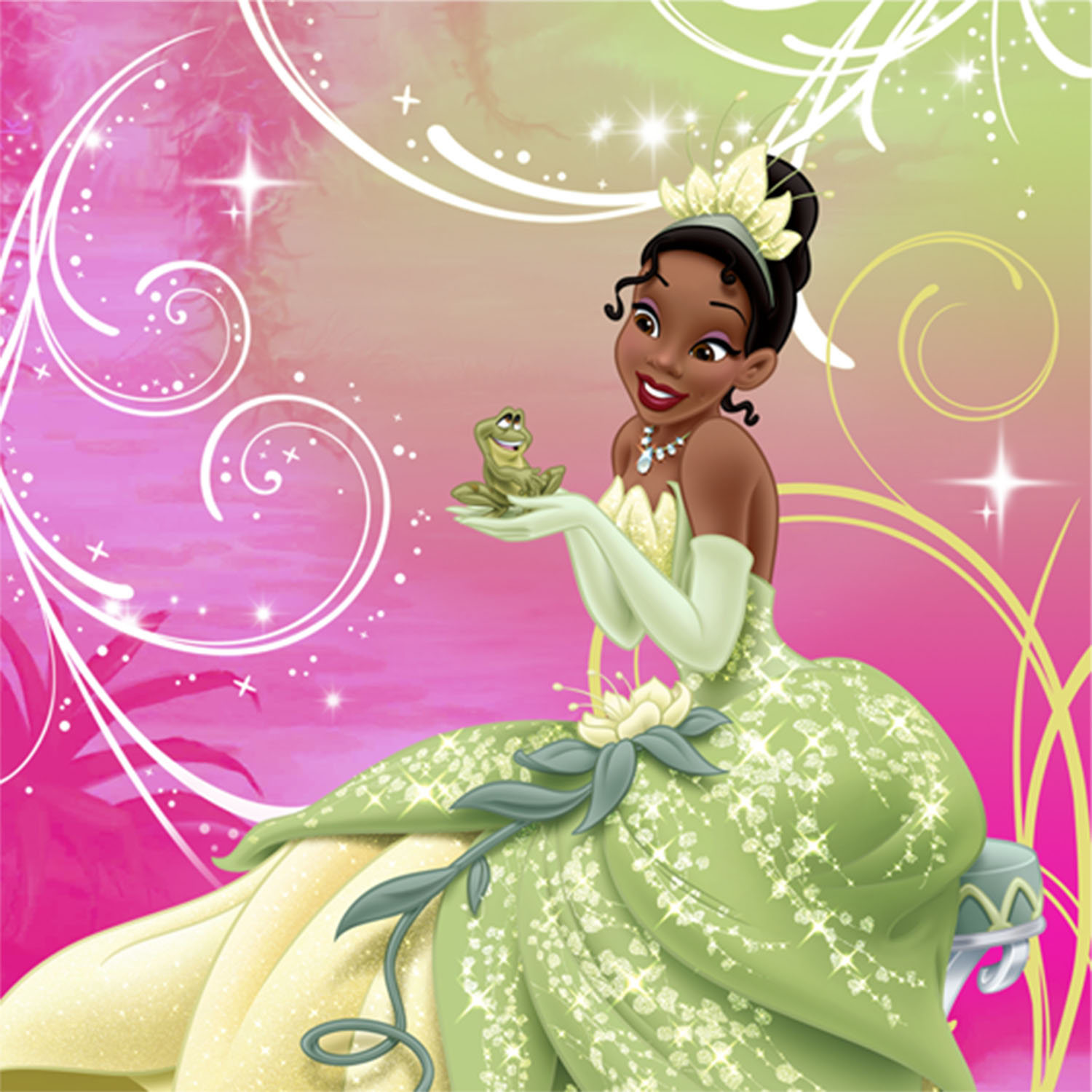 princess and the frog sparkle party supplies   beverage