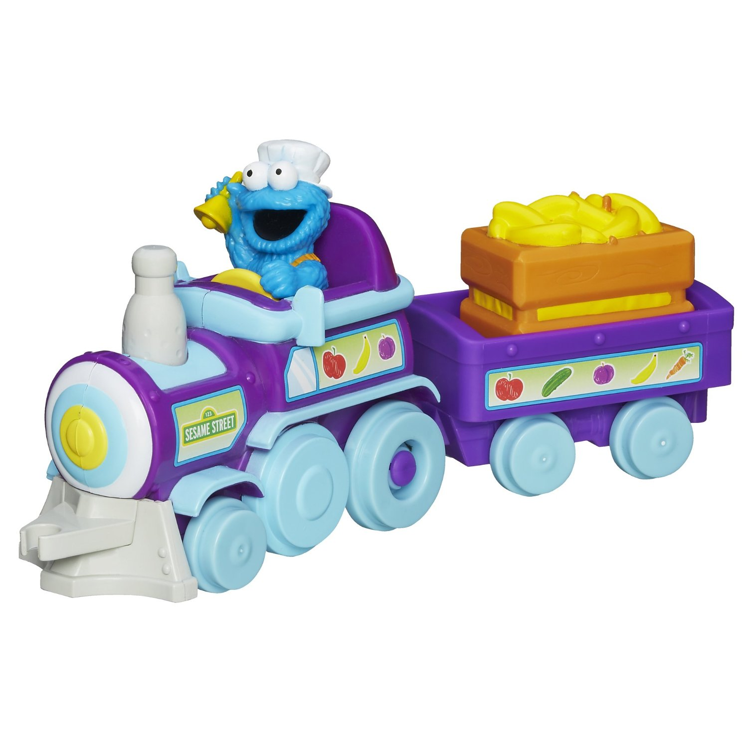 Playskool Toy Food : Sesame street toys cookie monster food train at toystop