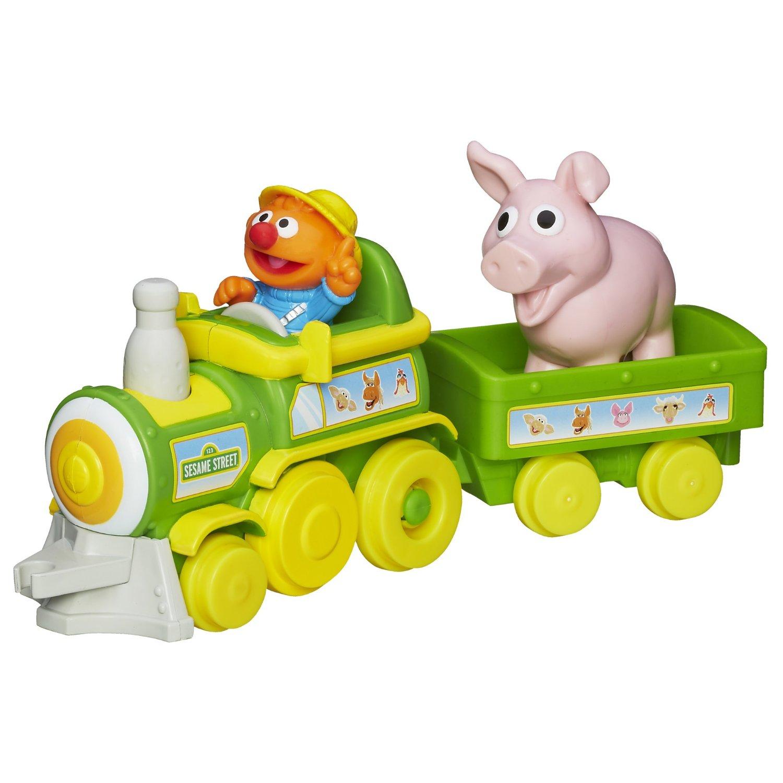 Sesame Street Toys : Sesame street toys ernie s farm train at toystop