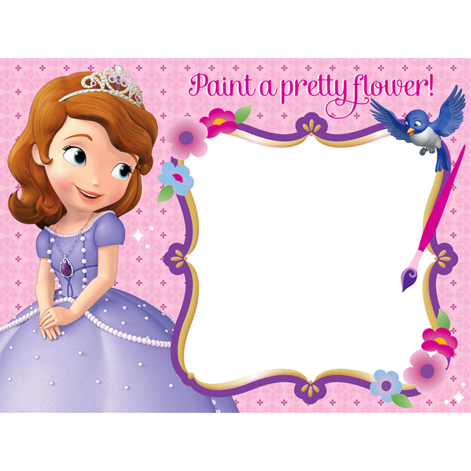 Sofia The First Party Supplies Water Paint Boards At ToyStop