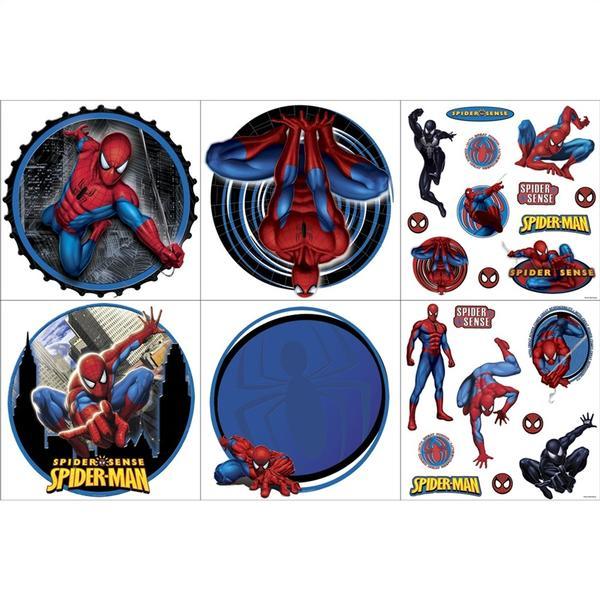Spider Man Bedroom Decor Spider Man Wall Decorating Kit