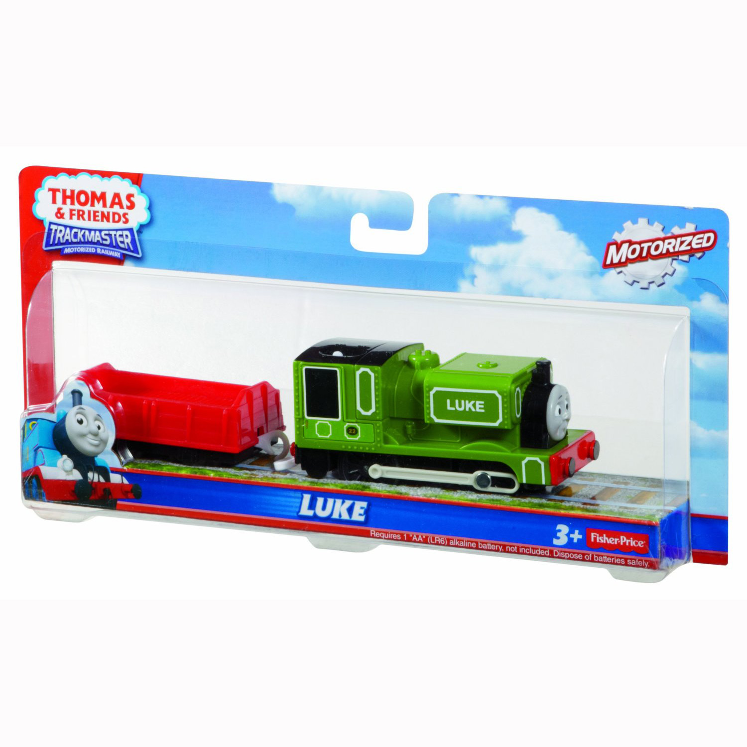 Thomas And Friends Trackmaster Trains Motorized Luke