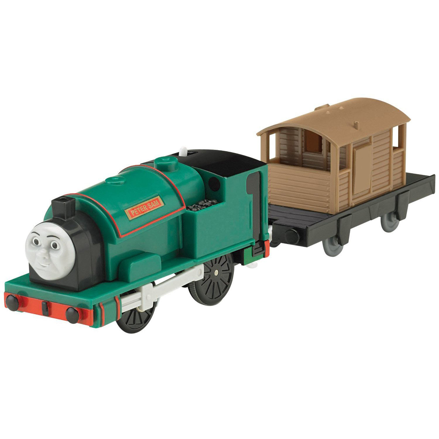 Thomas Trackmaster Trains Peter Sam Motorized Engine At
