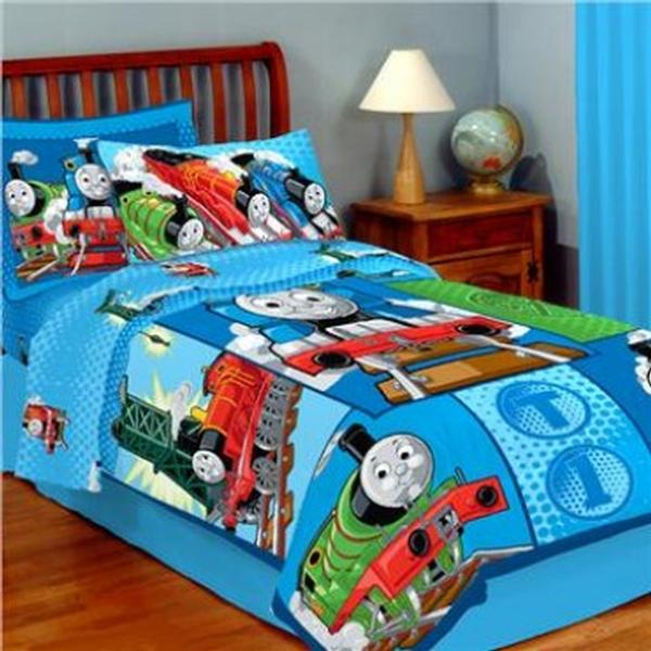 Thomas The Train Bedding Microfiber Twin Comforter At