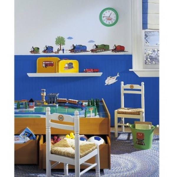 thomas the train bedroom decor peel stick wall stickers at toystop