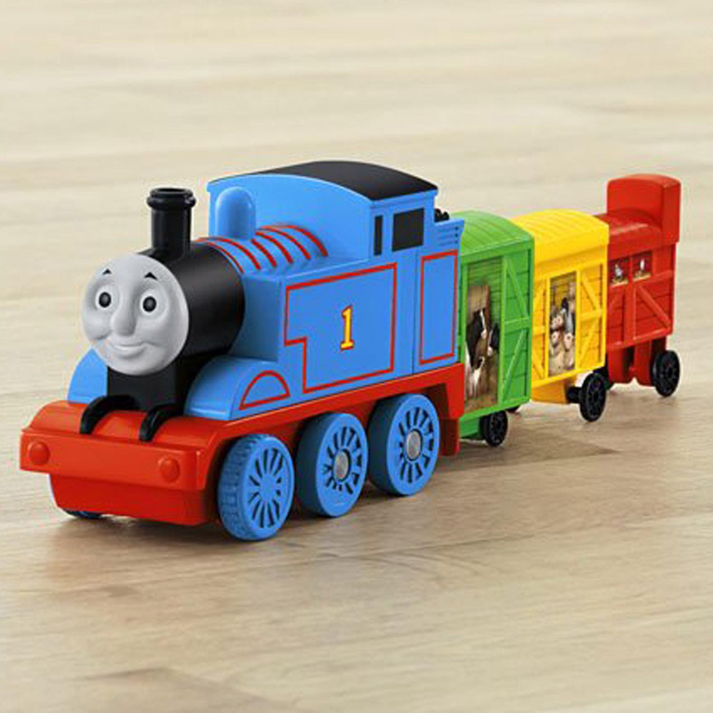 Thomas The Train Toys Thomas Stretching Cargo At Toystop