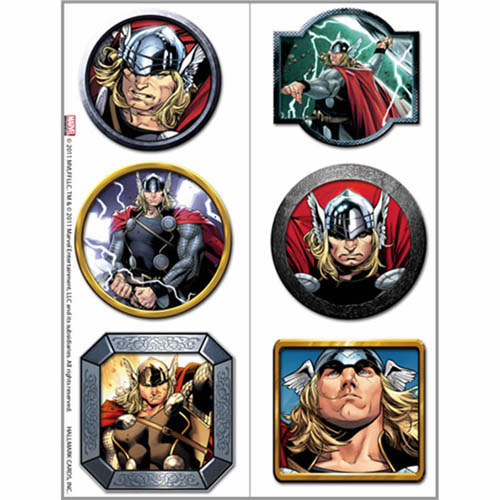 Thor party supplies temporary tattoo favors at toystop for Tattoo party ideas