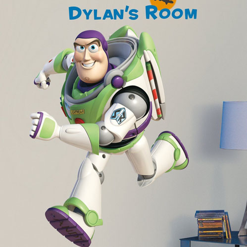 toy story bedroom decor buzz lightyear giant wall decal